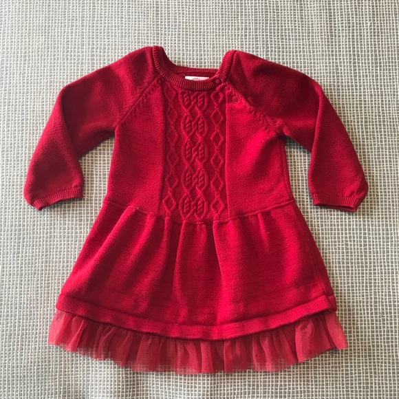 4c07bff8407a Cat & Jack Dresses | Hp Cat Jack Baby Girl Sweater Dress | Poshmark